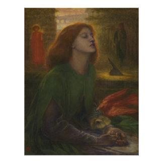 Beata Beatrix by Dante Gabriel Rossetti Photo Print