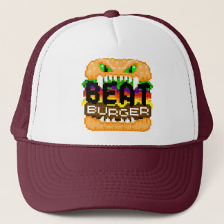 Beatburger Bites Back Logo Cap