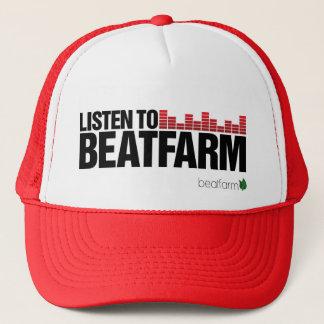 Beatfarm Listen Red Trucker Hat