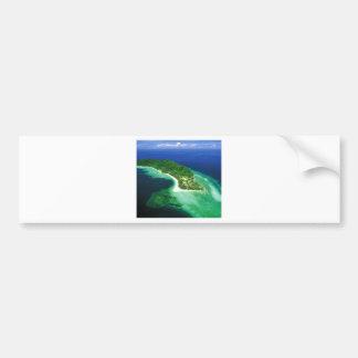 Beatiful Borneo Island Bumper Stickers