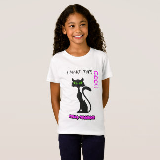 Beatiful Cat T Shirt - PERSONALISED