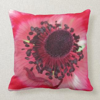 Beatiful Pink Flower Throw Pillow