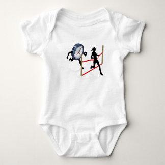 Beating a Deadline Baby Bodysuit