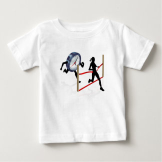Beating a Deadline Baby T-Shirt