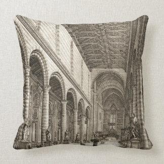Beatissimo Padre c1650 Throw Pillow