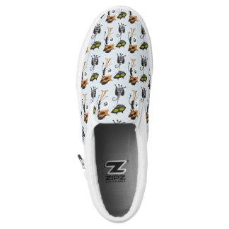 Beatnik Kats Slip-On Sneakers