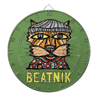 """Beatnik"" Metal Cage Dartboard"