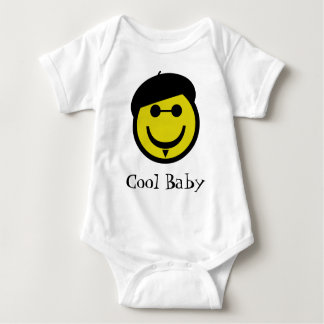 Beatnik Smiley Baby Bodysuit