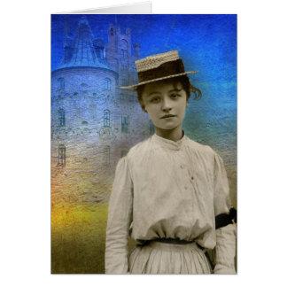 Beatrice, France 1916-Notecard Card