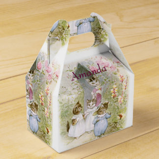 Beatrix Potter, Birthday Favor, Easter Gift Wedding Favor Boxes