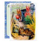 Beatrix Potter - Bunnies Watching the Cat Card