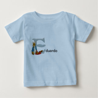 Beatrix Potter Letter E Toddler & Baby Name Shirt