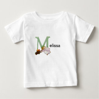 Beatrix Potter Letter M Toddler & Baby Name Shirt
