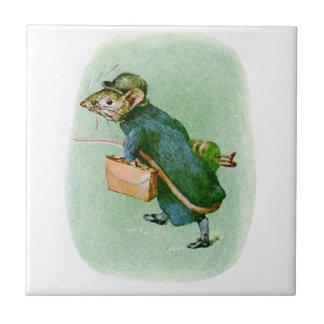 Beatrix Potter Mouse Tile