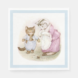 Beatrix Potter, Tom Kitten, Custom Paper Napkin