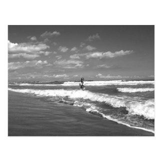 Beatrix RK the beach - postcard