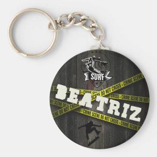 BEATRIZ - Skater Style Keychain