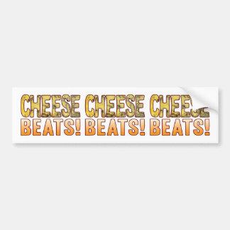 Beats Blue Cheese Bumper Sticker