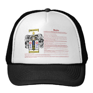 Beattie (meaning) trucker hat
