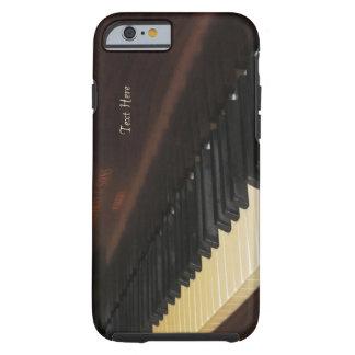 Beau cas de l'iPhone 6 de piano Coque iPhone 6 Tough