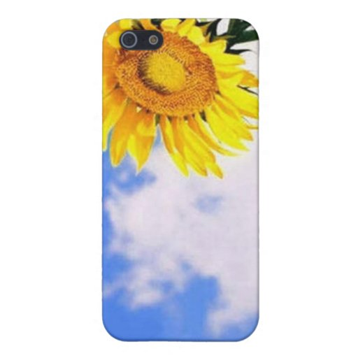 Beau coque iphone de tournesol iPhone 5 case