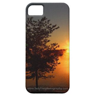 Beau coque iphone orange de lever de soleil coque iPhone 5 Case-Mate
