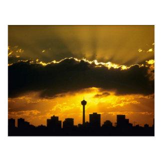 Beau coucher du soleil : Coucher du soleil de Calg Carte Postale