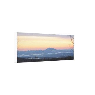 Beau lever de soleil au Vermont Toiles Tendues