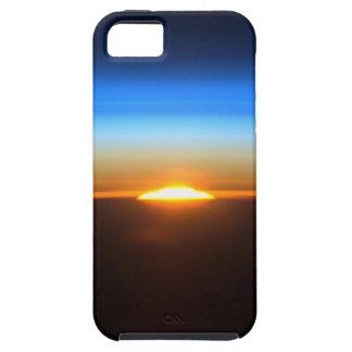 Beau lever de soleil dans l'espace coque Case-Mate iPhone 5