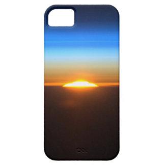 Beau lever de soleil dans l'espace étui iPhone 5