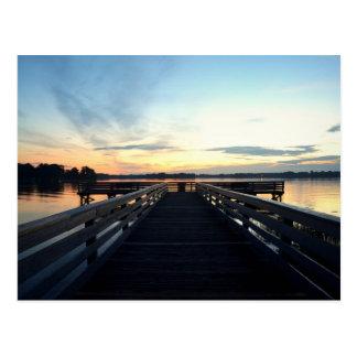 Beau lever de soleil de la Floride Cartes Postales