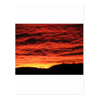 Beau lever de soleil du Colorado Carte Postale
