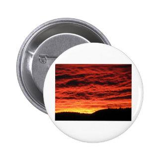Beau lever de soleil du Colorado Pin's Avec Agrafe