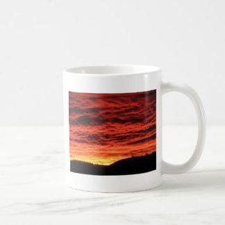 Beau lever de soleil du Colorado Mug À Café