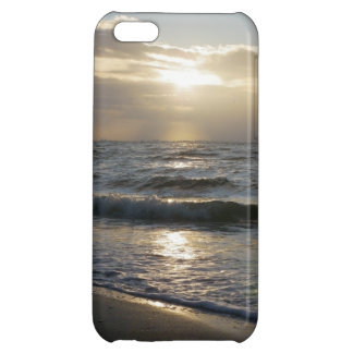 Beau lever de soleil sur la plage sur le coque iph coque iPhone 5C