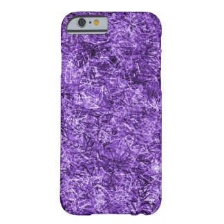 Beau motif pourpre de paille coque iPhone 6 barely there
