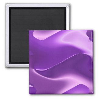 beau pourpre magnet carré