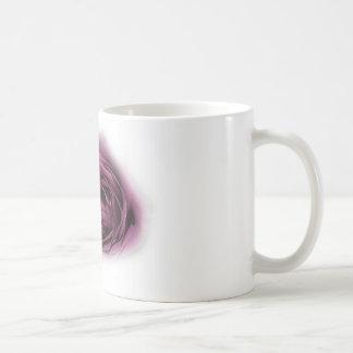 beau rose de pourpre tasses à café