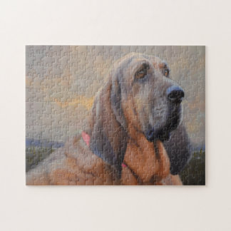 Beau The Blood Hound Puzzle