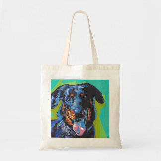 beauceron Dog Pop Art Tote Bag