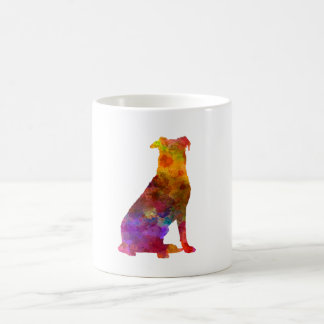 Beauceron in watercolor coffee mug