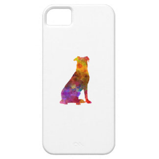 Beauceron in watercolor iPhone 5 case