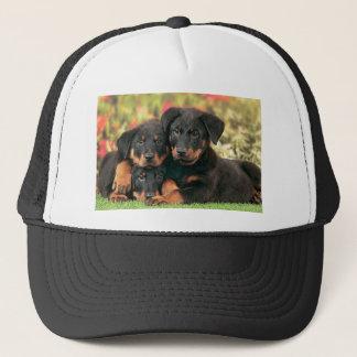 Beauceron Puppies Best Buds Trucker Hat