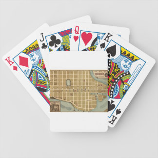 Beaufort 1860 bicycle playing cards
