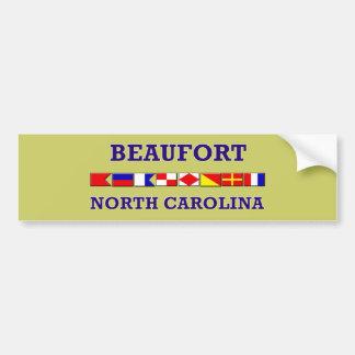 Beaufort Bumpersticker Bumper Sticker