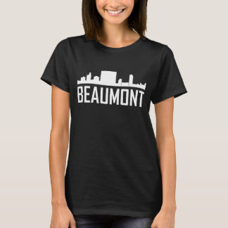 Beaumont Texas City Skyline T-Shirt