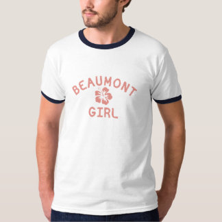 Beaumont TX Pink Girl T-Shirt