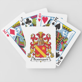 Beauregard Family Crest Bicycle Playing Cards