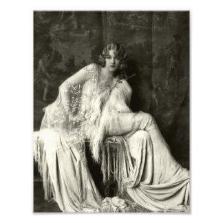 Beauté tôt de Français des années 1900 Impressions Photo