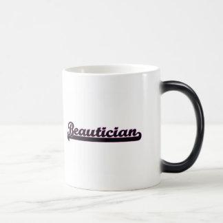 Beautician Classic Job Design Morphing Mug